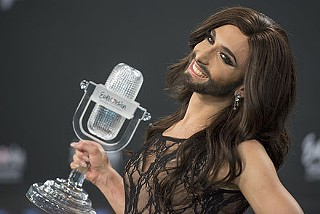 Don't worry, Conchita, the new guy's cool with us now.