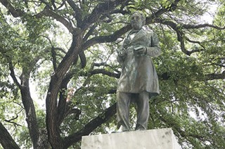 Jefferson Davis stays put, for the time being.