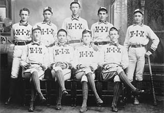 Austin's first pro team, the Hix<br>