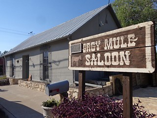 Day Trips: The Grey Mule Saloon, Fort Stockton