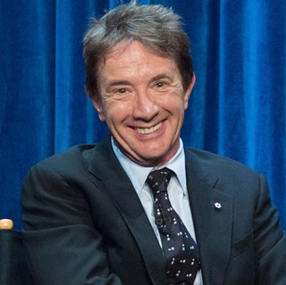 Martin Short at PaleyFest Fall TV Previews 2014 for the TV show Mulaney