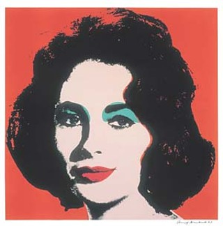 <i>Liz</i>, 1964. Offset lithograph on paper.
