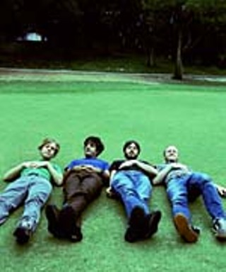 Explosions in the Sky: Chris Hrasky, Munaf Rayani, Mark Smith, Michael James