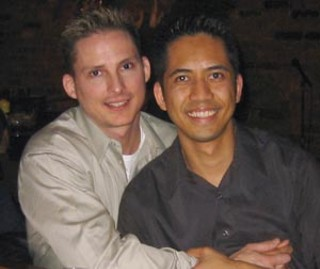 Dewayne Friar (l), the off-duty gay cop who was 
