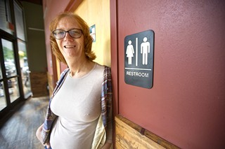 Psychotherapist Paula Buls has seen an increase in trans clients concerned about being harassed while using the restroom.
