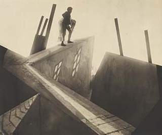 Still from the film <i>The Cabinet of Dr. Caligari</i>, 1919,  from the Norman Bel Geddes Archive