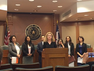 Texas Democrats laid out their 2017 legislative agenda and addressed ideological bills proposed by conservative legislators during a Capitol press conference on Monday, Nov. 14