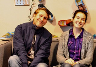 Scott Aukerman and Jessica McKenna