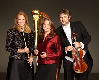 Allegro Chamber Trio (l-r): Megan Meisenbach, Elaine Barber, and Bruce Williams