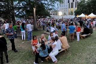 A photo from the Austin Food & Wine Fest's Rock Your Taco Showdown in Republic Square, April 27, 2013