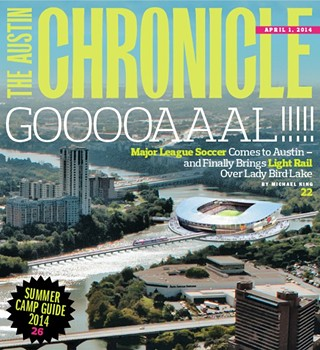 Remember when we did that April Fools cover where we said an MLS team was going to build a stadium? Well …