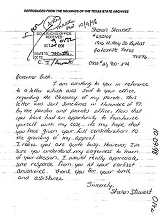 Unpardonable the bush record of compassion began long before his but the stewart case was different because she was not asking for real clemency for forgiveness just as she wasnt going to take any shit off guards expocarfo