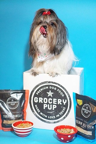 Grocery Pup Creates Gourmet Dog Food Good Enough for Humans