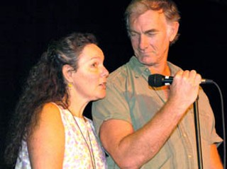 Producer Maggie Renzi and director John Sayles introduced <i>The Secret of Roan Inish</i>, their 1994 film about Irish selkies. The Gaelic League of Austin invited Renzi and Sayles for the screening, a benefit to send local Irish musicians to the Ireland championships in August. The couple's next film, <i>Silver City</i>, is set for a September release.