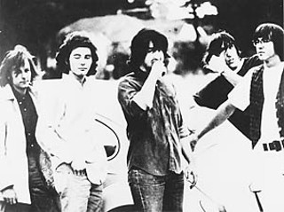 The 13th Floor Elevators, 1966 (l-r): Tommy Hall, Roky Erickson,  Stacy Sutherland, John Ike Walton, and Ronnie Leatherman