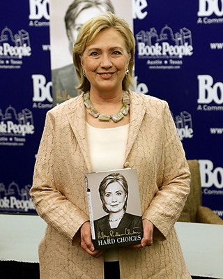 The State Board of Education approved the removal of Hillary Clinton from the history books.
