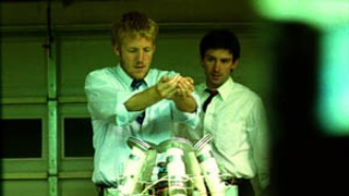 Shane Carruth (r) in <i>Primer</i>