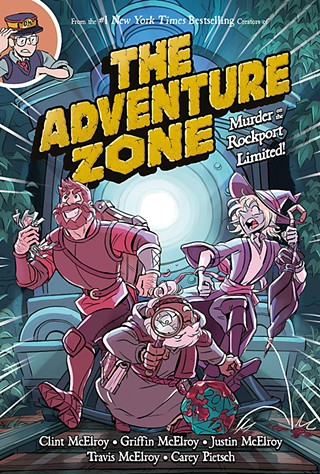 <i>The Adventure Zone: Murder on the Rockport Limited!</i>