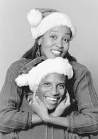 With Carla Nickerson in <i>Merry Christmas, Baby</i>, 1995