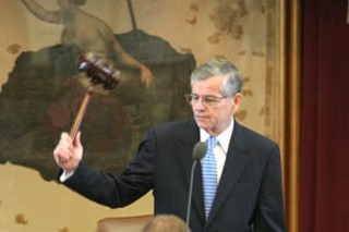 With a bang of his gavel, Speaker of the House Tom Craddick called the Texas Legislature's special session on property tax and school finance reform to order Tuesday. The governor presented a proposal that would cut property taxes by $7 billion and boost school funding by $5 billion. Then legislators adjourned until Monday.