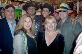 We Are Family: Austin's three highest-profile brother-and-sister acts – Clifford Antone and Susan Antone (left), Robert Rodriguez and Patricia Vonne (center back), and the twin terrors, Margaret and Stephen Moser.