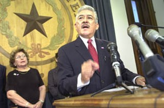 State Sen. Gonzalo Barrientos told a standing-room-