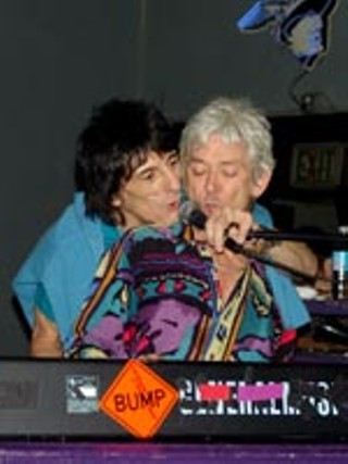 Ian McLagan and Ronnie Wood shag Houston's Continental 