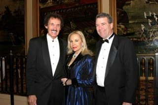 Richard The King Petty (l) of NASCAR fame and Dr. 