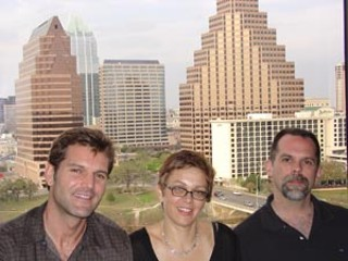 Reid Williams, Janet Baus, and Dan Hunt, the directors of the documentary Cruel & Unusual which premiered at SXSW 2006