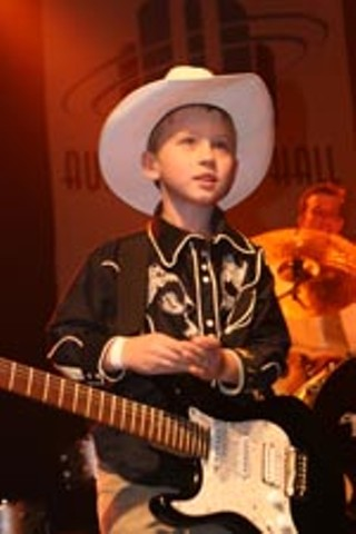 The show-stealing 6-year-old Willie Graham snagged the Austin Music Award for Most Charming Performer <i>and</i> Best Dressed – categories I just made up in his honor.