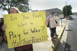 In case you missed it, April 17 was Tax Day, and anti-war 