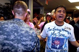 Juan Torres, father of John M. Torres (killed in Afghanistan 
