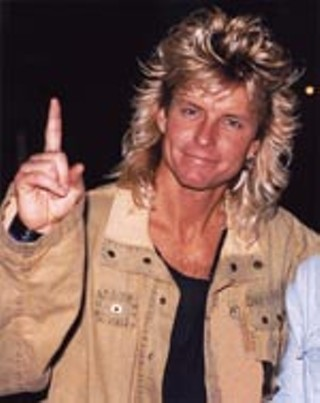 Farrah or Fabio? In the Eighties, the hair made the man.