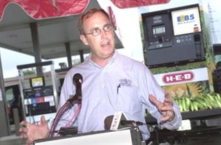 Curtis Donaldson, chairman of the National Ethanol Vehicle Coalition, called HEB's plans to open Austin's first public ethanol pump later this year a bold and forward thinking commitment.