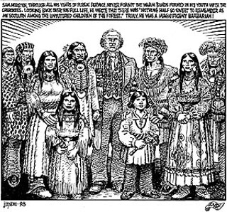 From <i>Indian Lover: Sam Houston & the Cherokees </i>(1998)