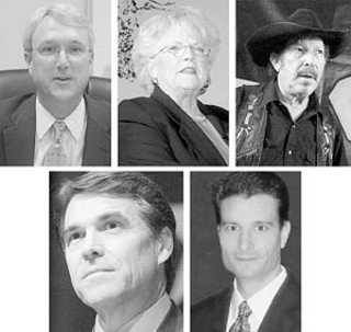Too Many Jokers in the Deck (clockwise from left): 