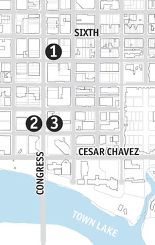 This map shows Congress Avenue blocks available for 