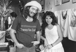 James McMurtry and Tish Hinojosa share a laugh