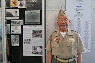 In 1945, Robert Chin was one of 100 Chinese military officers flown to the U.S. to serve as interpreters for Chinese pilots training for a top-secret World War II mission against Japan. The FAB-100 (FAB is short for Foreign Affairs Bureau), as they were known, were scattered at military bases across America, including what was then Bergstrom Army Air Field in Austin. On Sunday, Chin and five other surviving members of the Bergstrom group reunited at their old base – now Austin-Bergstrom International Airport – to mark the unveiling of a display honoring their largely forgotten role in America's and Austin's history. Although the war's end cut short the FAB-100 mission, members were nonetheless given the Medal of Freedom by President Truman, and many stayed in the United States. One of the event sponsors was Larry Tu, senior vice-president and general counsel of Dell Inc. and son of the late Duke Tu, a FAB-100 member.
