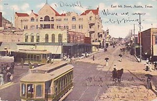 If Austin adopts streetcars, it wouldn't be the first time, as 