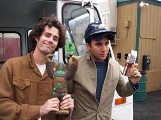Matt Allen (l) and Sufjan Stevens