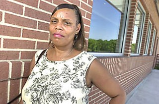 Sindy Holmes fled Rita from Beaumont, ultimately landed near Pflugerville, and has since struggled to find permanent employment and affordable housing.