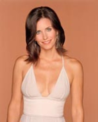 Courteney Cox, whose new character is not exactly a clean freak