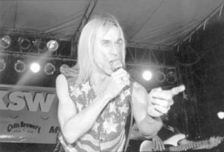 Iggy Pop on Sixth Street, SXSW 1996