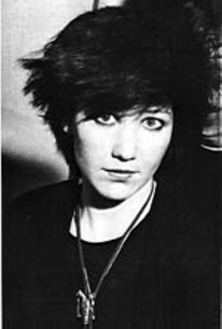 Kathy Valentine as she looked when she joined the Go-Go's in 1980