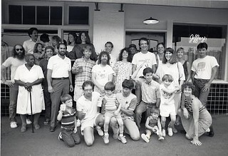 Jeffrey's staff photo, early 1980s