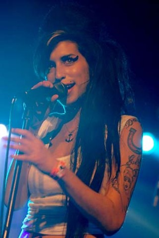 Amy Winehouse wonders what she did with that can of Rehab