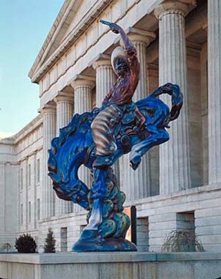 <i>Vaquero</i> outside the Smithsonian Museum of American Art, Washington, D.C.