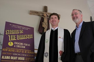 The Rev. Bill Boyd and Greg Grooms, assistant pastor of All Saints Presbyterian Church