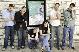 (l-r) Graham Davidson, Mike Akel, Mike McAlister, Angie Alvarez, Chad Darbyshire, Chris Mass